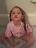 SwimZip in Bathtub
