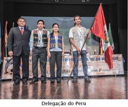 PERU ES GANADOR DE LA MEDALLA DE BRONCE IBEROAMERICANA DE BIOLOGIA CASCAIS - PORTUGAL 2012