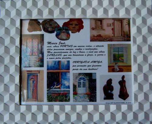 Homenagem pelos 25 anos do Grupo Art Blanch'aime