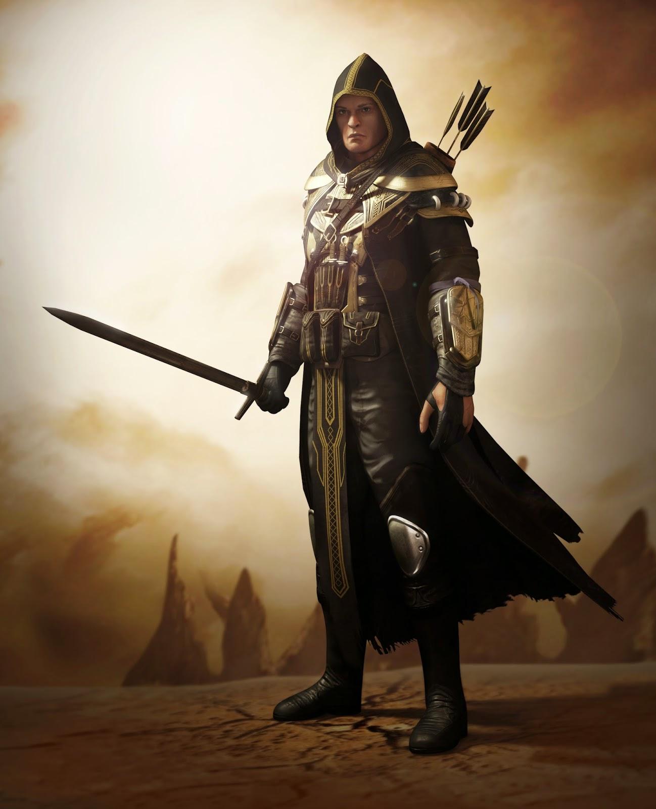 The Elder Scrolls Breton Knight 3D modelBreton Elder Scrolls