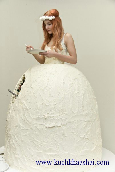Edible Wedding Dress