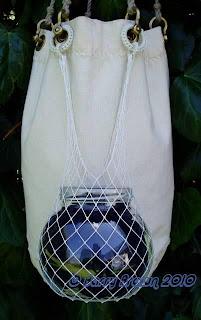 The Knotty Bear.: Net Making.