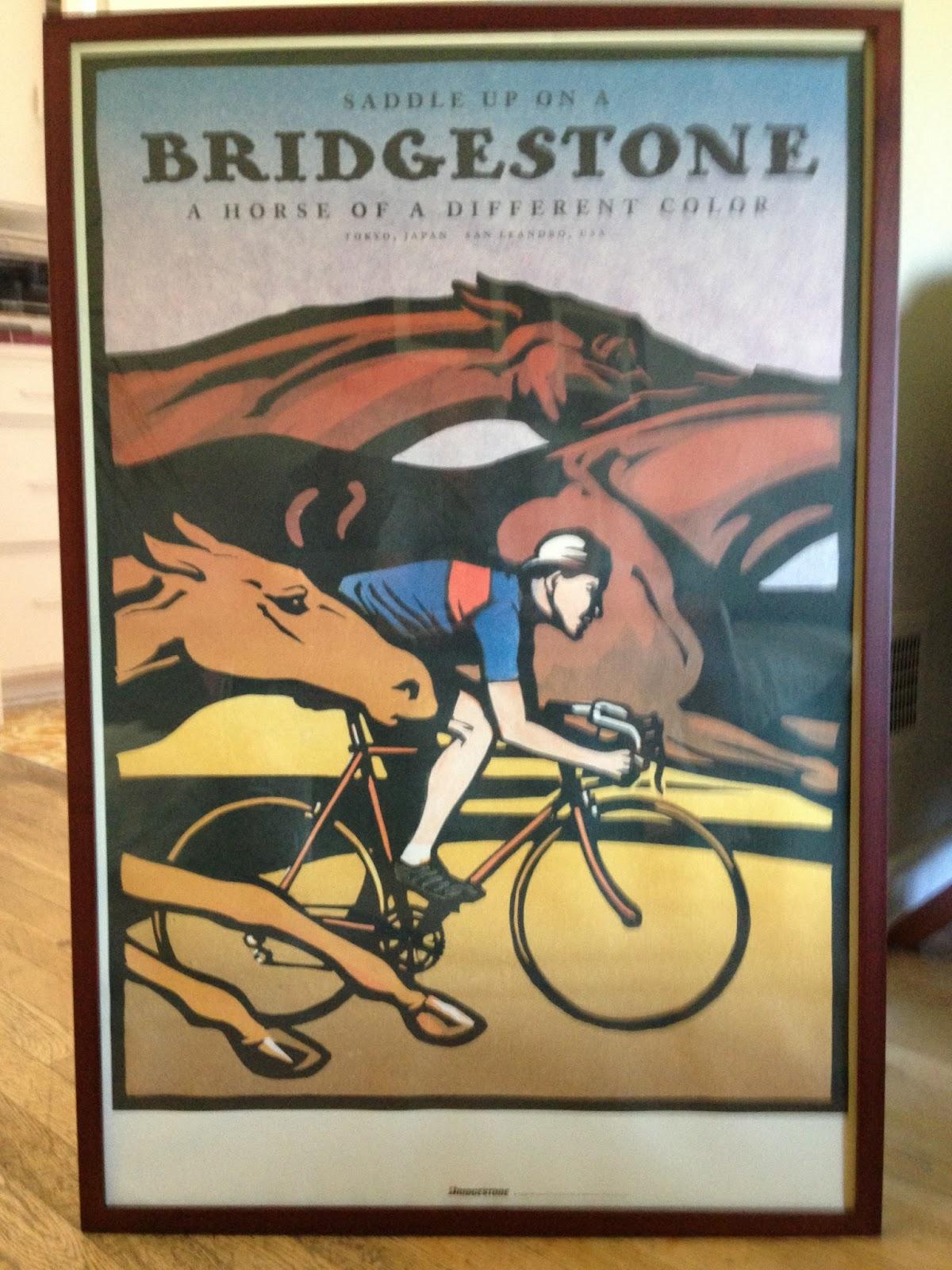 Bridgestone Bicycle Catalog Bridgestone Bicycle Poster