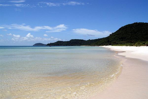 Traumstrand auf der vietnamesischen Insel Phu Quoc