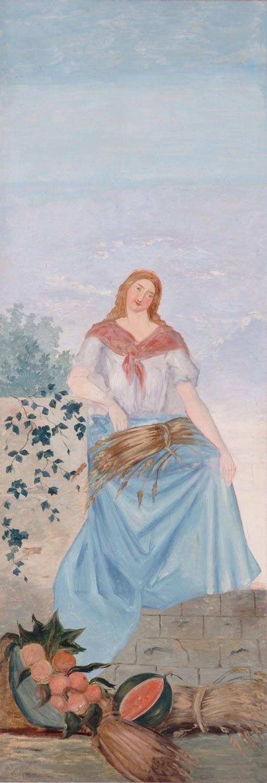 Paul Cézanne ~ The Four Seasons -Summer, 1861