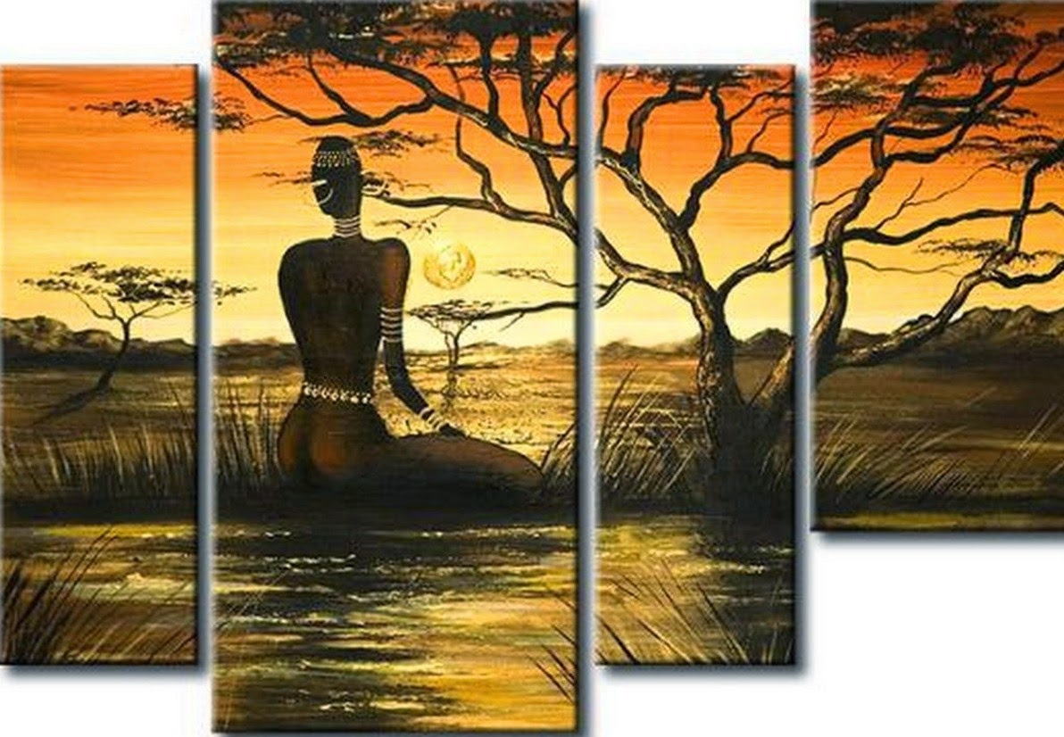 cuadros-africanos-al-oleo