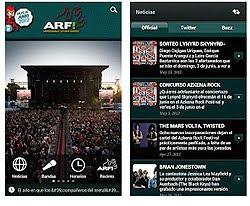 Aplicación para iPhone y Android del Azkena Rock Festival