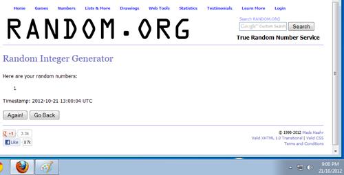 Pemenang Giveaway Buat Follower | Hadiah Kaspersky Internet Security 2013