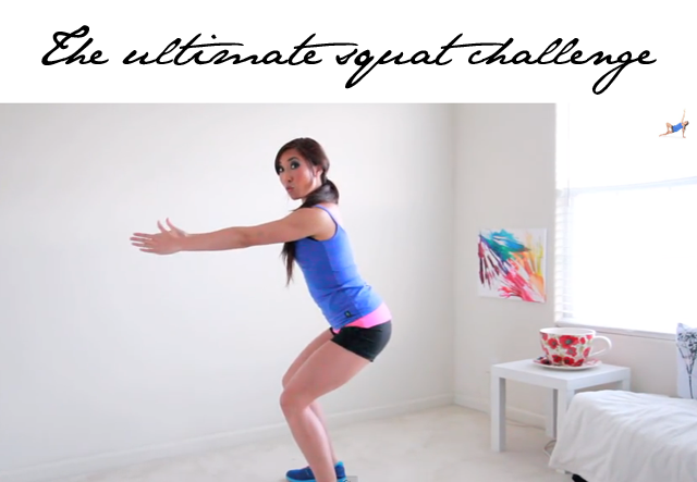Blogilates Squat Challenge