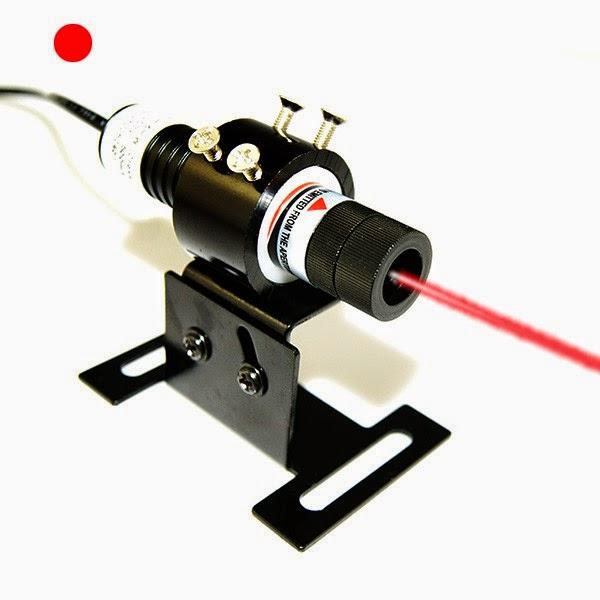 pointeur laser bleu 635nm alignement laser rouge de point pour cornet. Black Bedroom Furniture Sets. Home Design Ideas