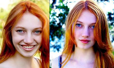 pelirroja Jacqueline Emerson es Fox Face en los juegos del hambre