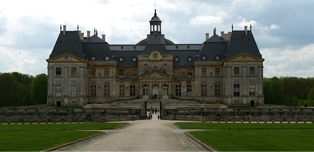French Chateau Near Paris