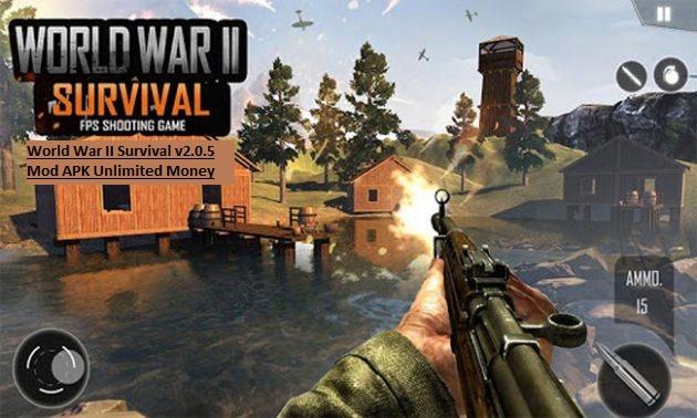 World War II Survival v2.0.5 Mod APK Unlimited Money
