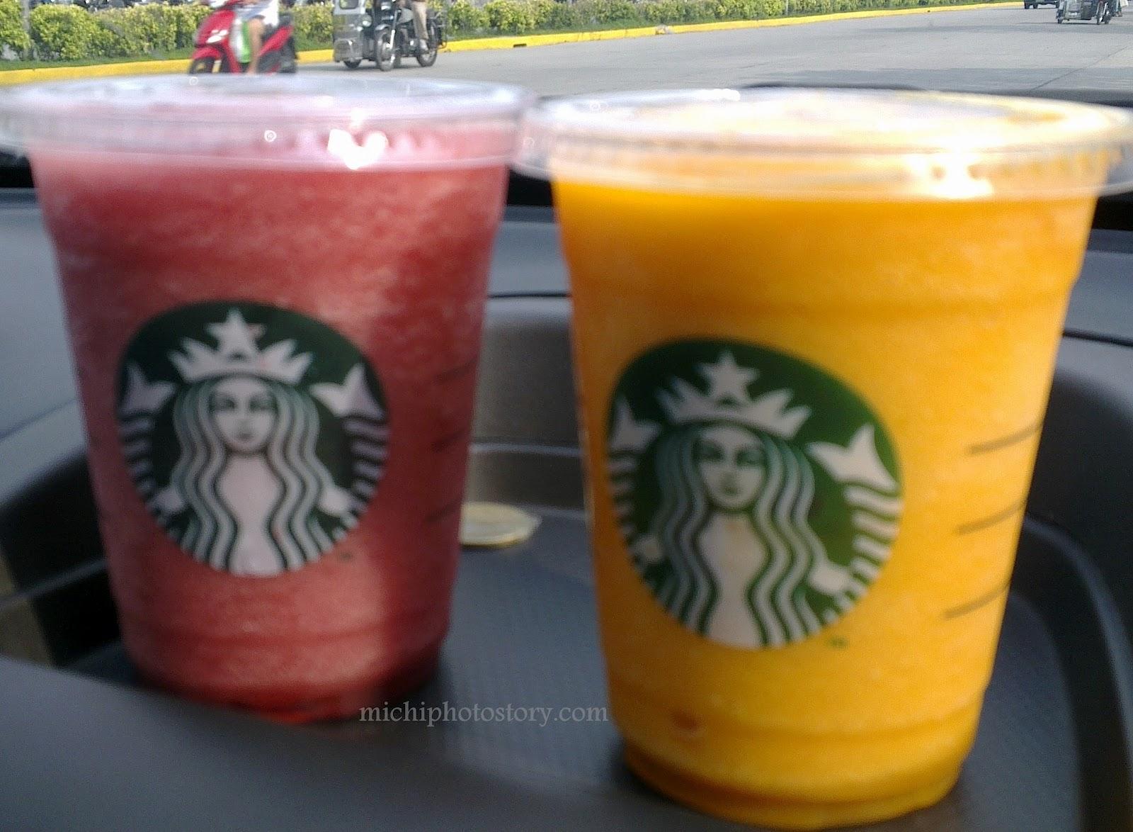 Michi Photostory: Free Starbucks Beverage