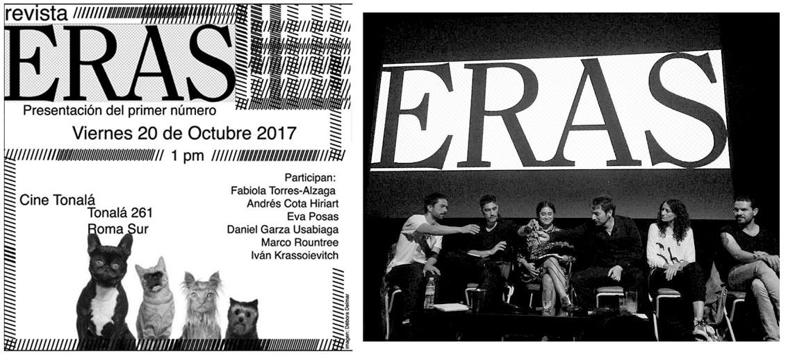Presentación de la revista ERAS, No. 1