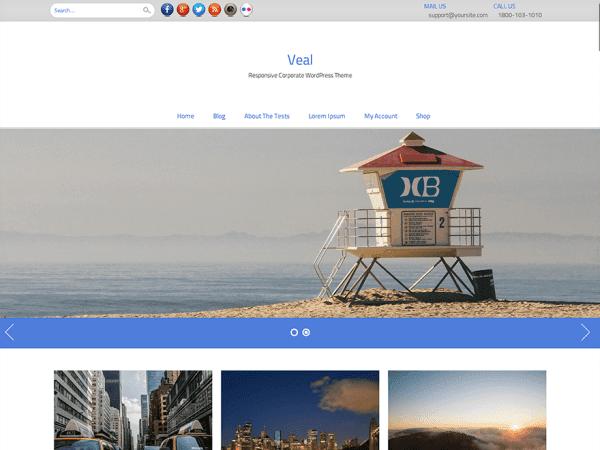 Veal WordPress Theme