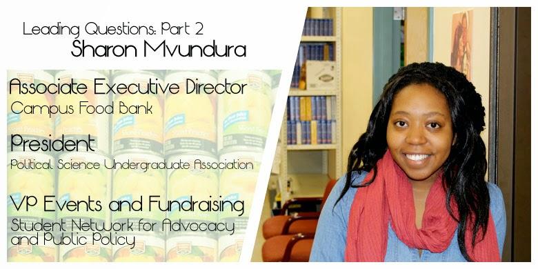 Student Leader - Sharon Mvundura