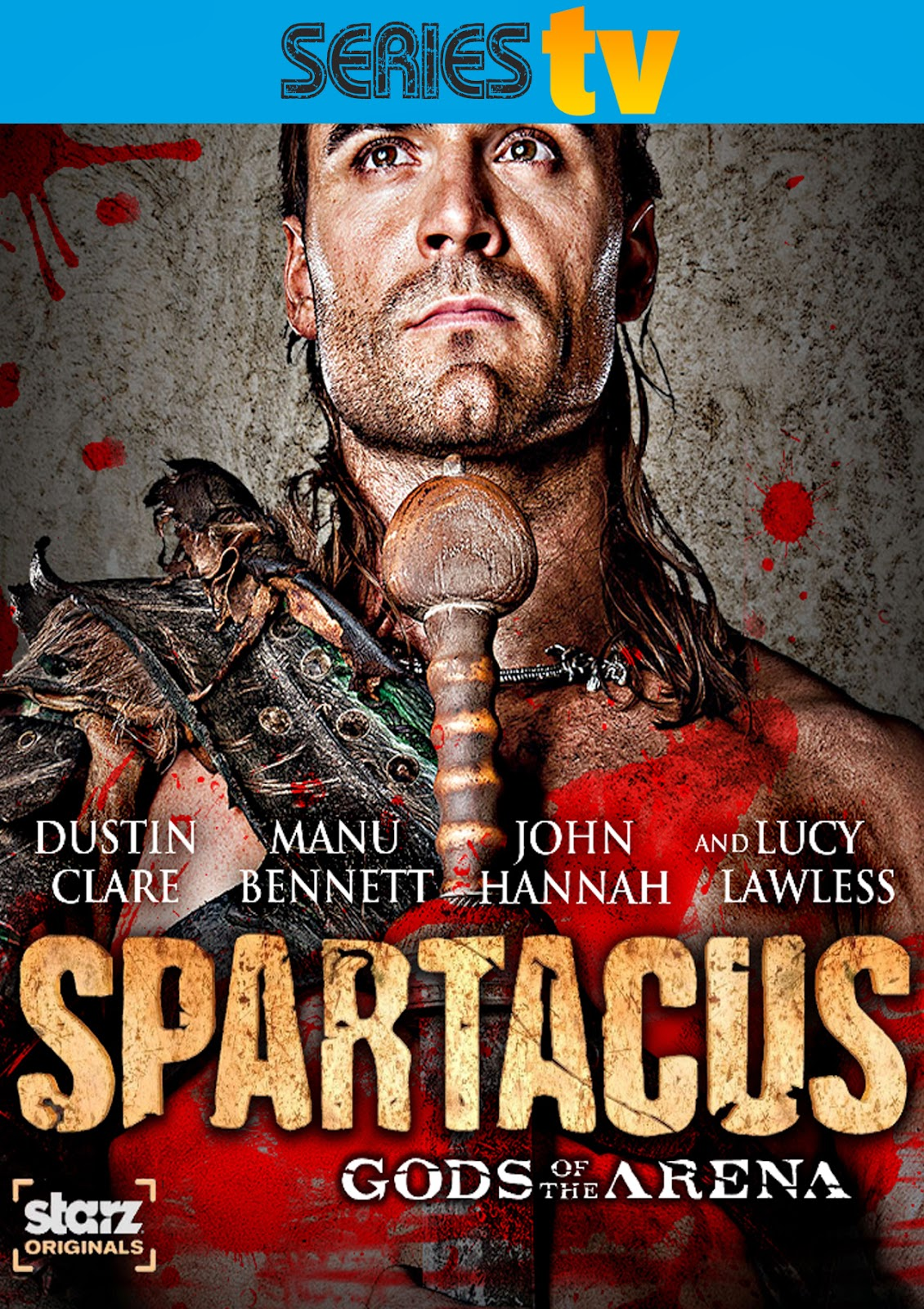Spartacus: Dios de la Arena [2011] [Latino] [DVD Full]