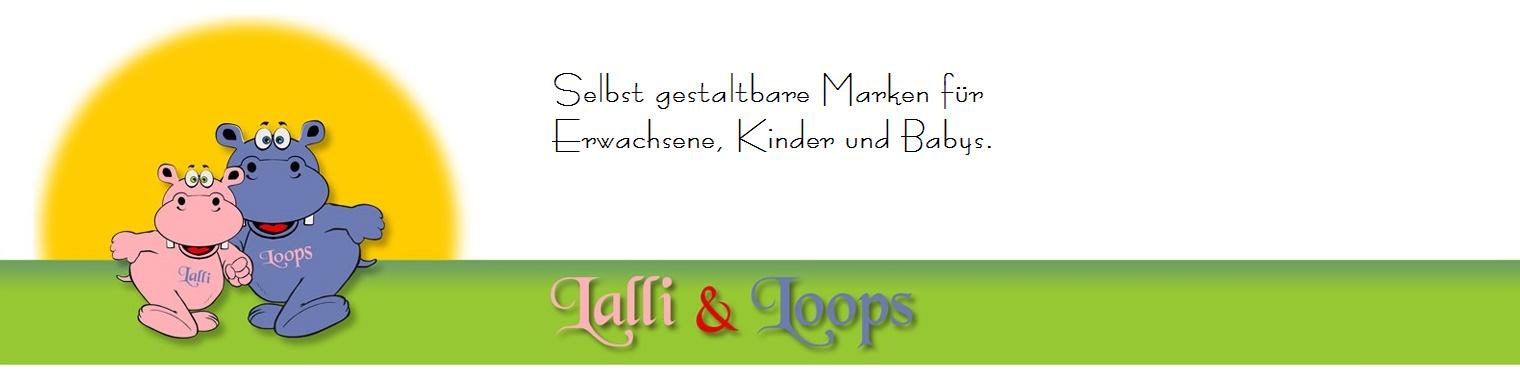 Niedliche Artikel der Marken Lalli und Loops