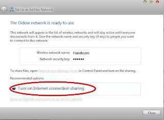 cara membuat hotspot wifi dengan modem usb di windows7