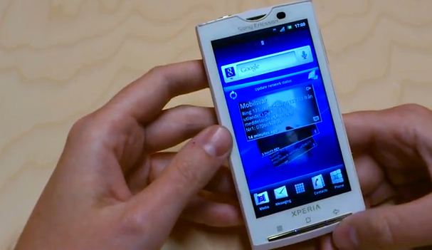Sony Ericsson Xperia X10 can update to Android 2.3.3 ...