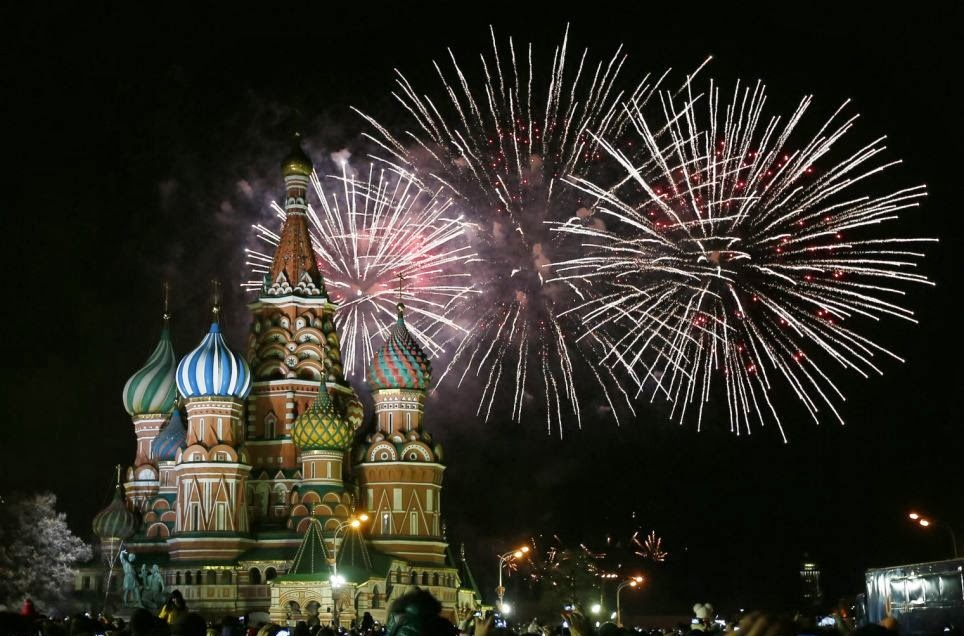 Happy New Year Celebration in Different part of the World