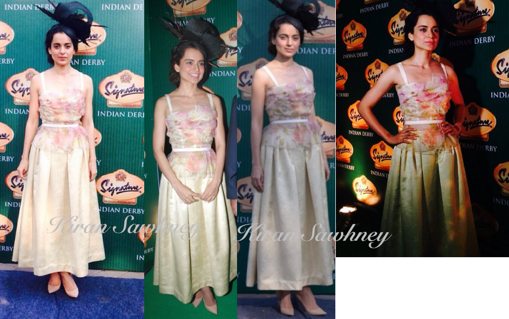 Kangana Ranaut at Signature Derby in Dolce & Gabbana