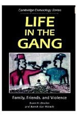 Front cover of Life in a Gang Book.