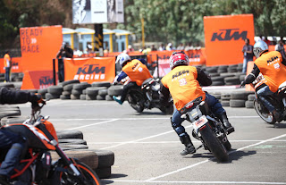 SECOND VERSION OF KTM ORANGE DAY CONDUCTED ON MUMBAI