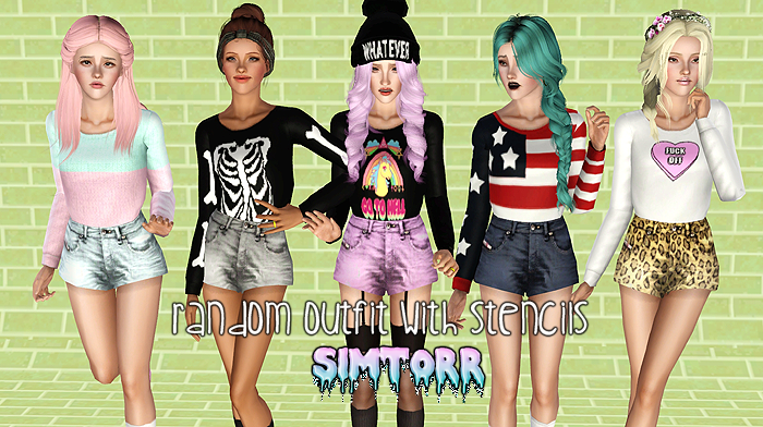my sims 3 clothing and socks by simtorr