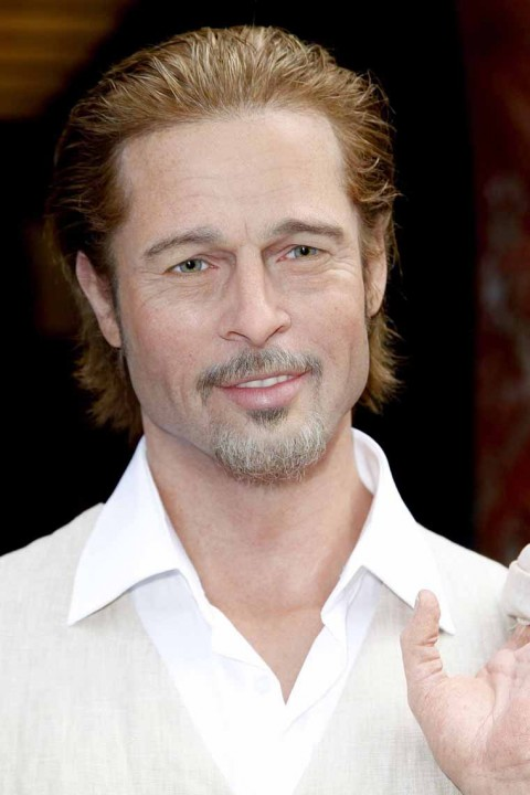 Brad Pitt's Wax Statue Of Paris 2011