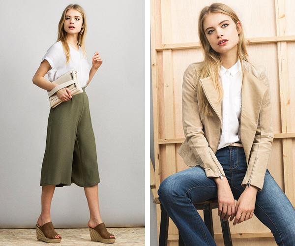 Formula Joven El Corte Inglés pantalón culotte y jeans