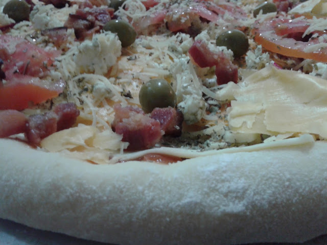 massa de pizza
