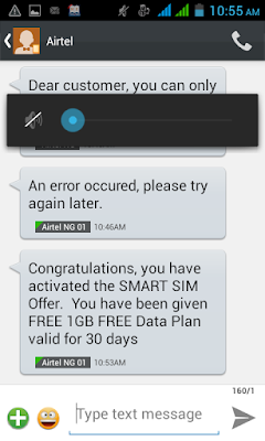Airtel Free 1GB Data Offer For One Month