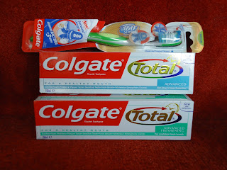 Colgate Toothpaste and Toothbrush
