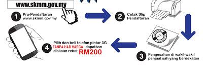 cara daftar rebate Rm200 telefon pintar,borang online rebat handphone,borang online rebat,cara daftar telefon pintar,borang online handphone