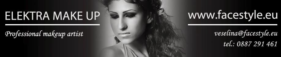 Професионален грим - Elektra make up