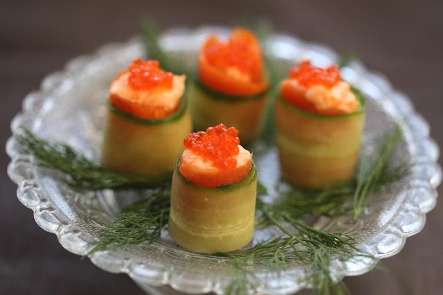 mousse saumon fumé , aneth , apéritif , Noel , concombre