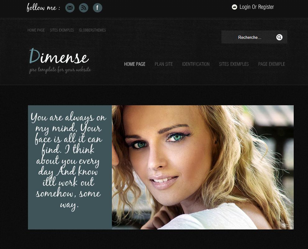 DimenseLite 2 Free Joomla Template