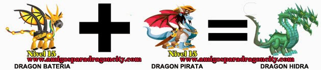 como hacer el dragon hidra en dragon city formula 1