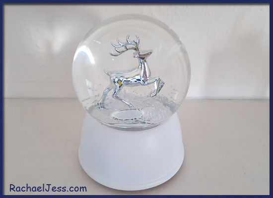 Changing my Christmas theme to silver and reindeer