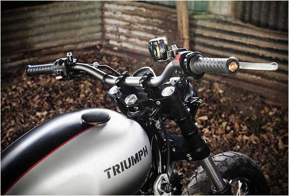 TRIUMPH SCRAMBLER | SPIRIT OF THE SEVENTIES | CUSTOM MOTORCYCLE | STREET SCRAMBLER MOTORCYCLE