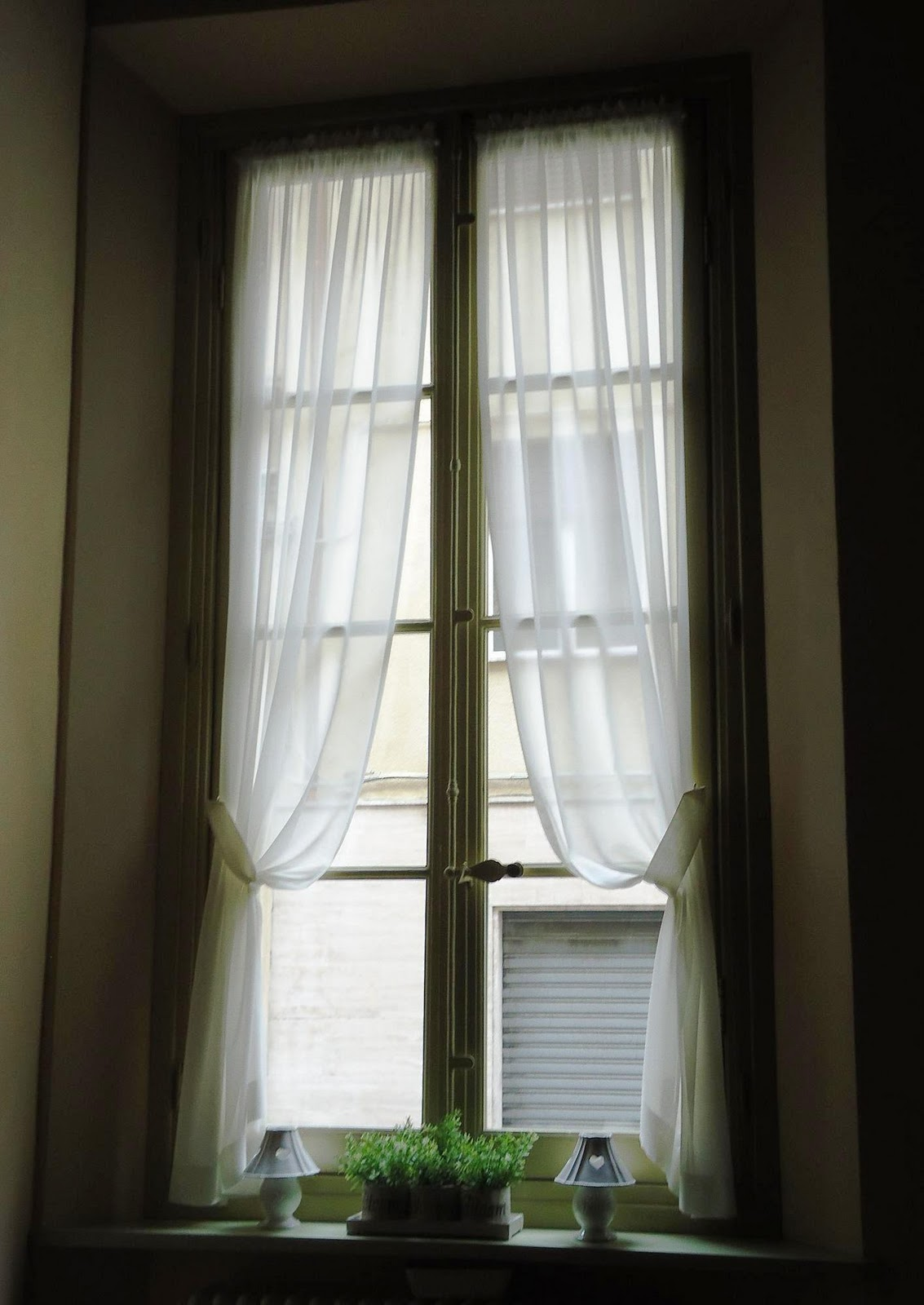 Nel nido ottobre 2011 - Tende per finestre alte ...