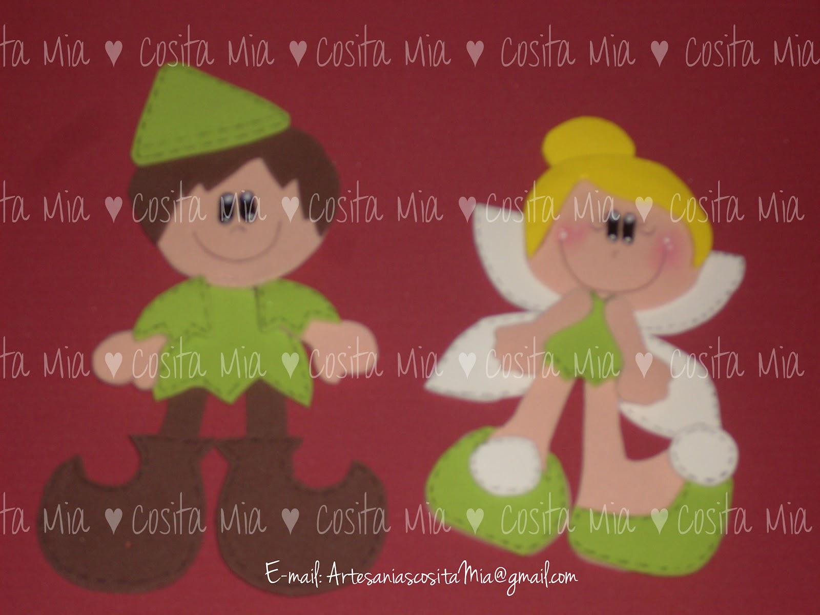 Duendes en goma eva infantiles - Imagui