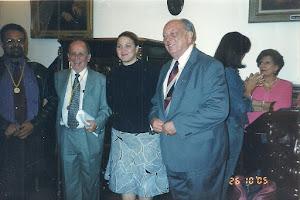 DE IZQ. A DER. DOCTORES MALASPINA, KRIVOY Y PUIGBO