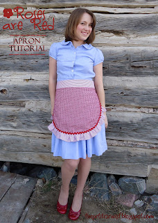 Mini Retro with Ruffles Apron