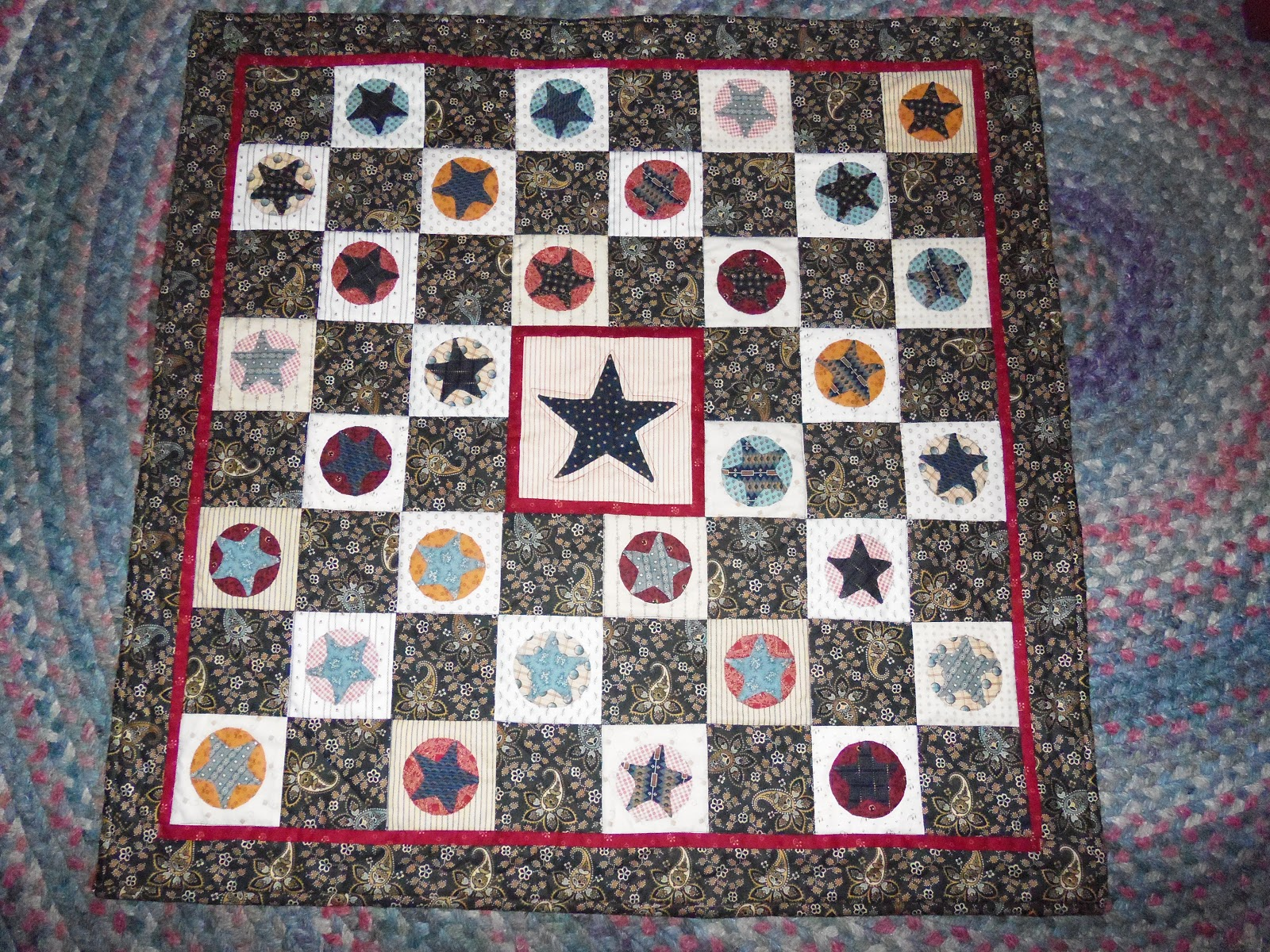 """""""My Life And Quilting"""": Yankee Doodle Quilt"""