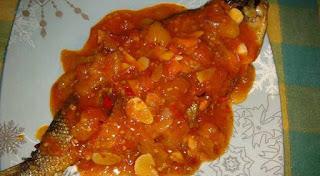 Bandeng Goreng Sambal Tomat