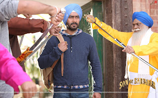 Son Of Sardaar HD Wallpaper - Starring Ajay Devgn