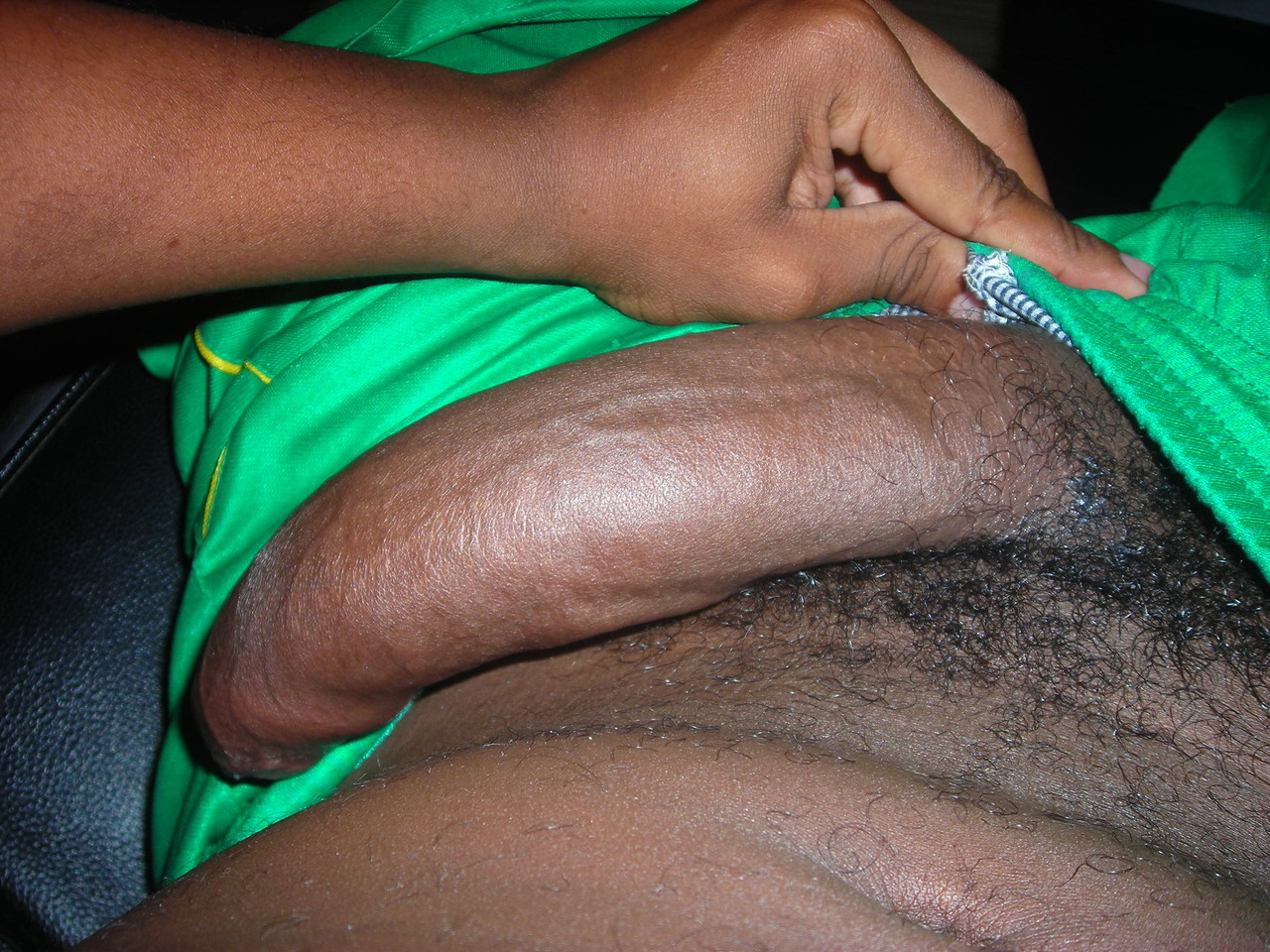 Men with hard uncut cocks